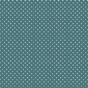 Spot by Makower UK - 5377 - White Spots on Dark Teal - 830_T7 - Cotton Fabric